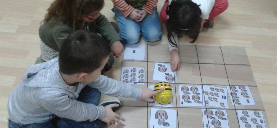 Clases extraescolares de Robótica educativa para alumnos de educación infantil.