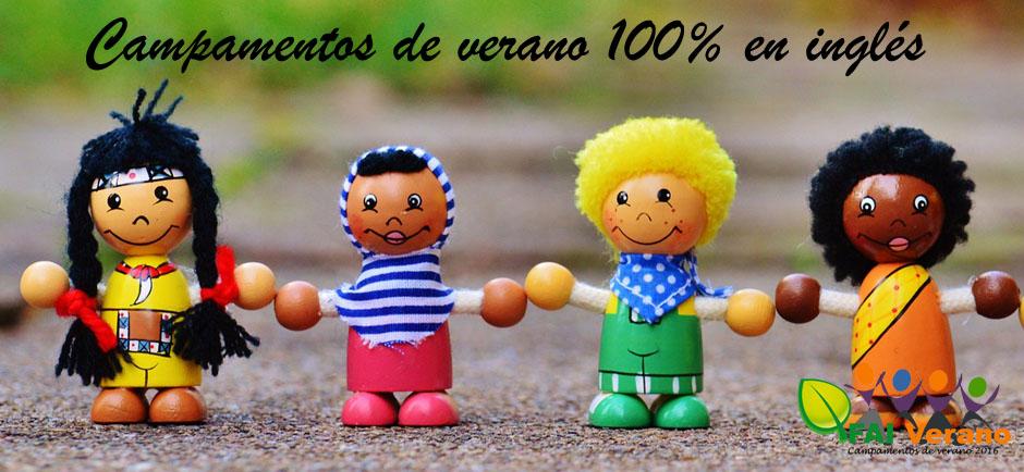 Campamento de verano 100% inglés en Salamanca