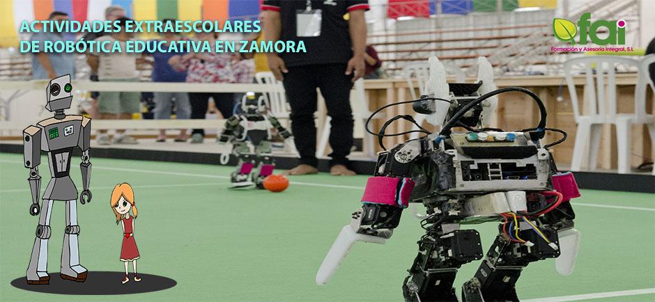 Actividades extraescolares de robótica educativa en <strong>Zamora</strong>
