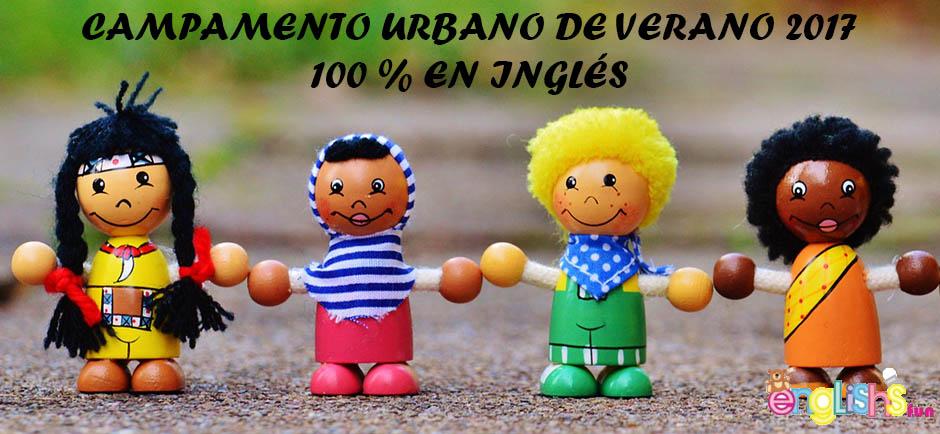 Campamento urbano 100% inglés en Salamanca