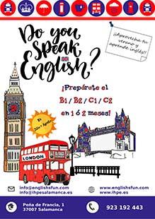 Habla inglés como si estuvieras en el extranjero