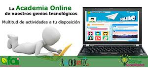 Visita la academia online de nuestros genios tecnológicos