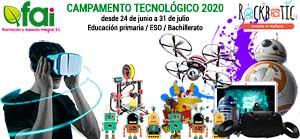 Campamento tecnológico de verano 2020